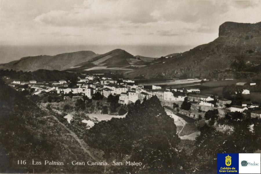 Vega de San Mateo, 1928