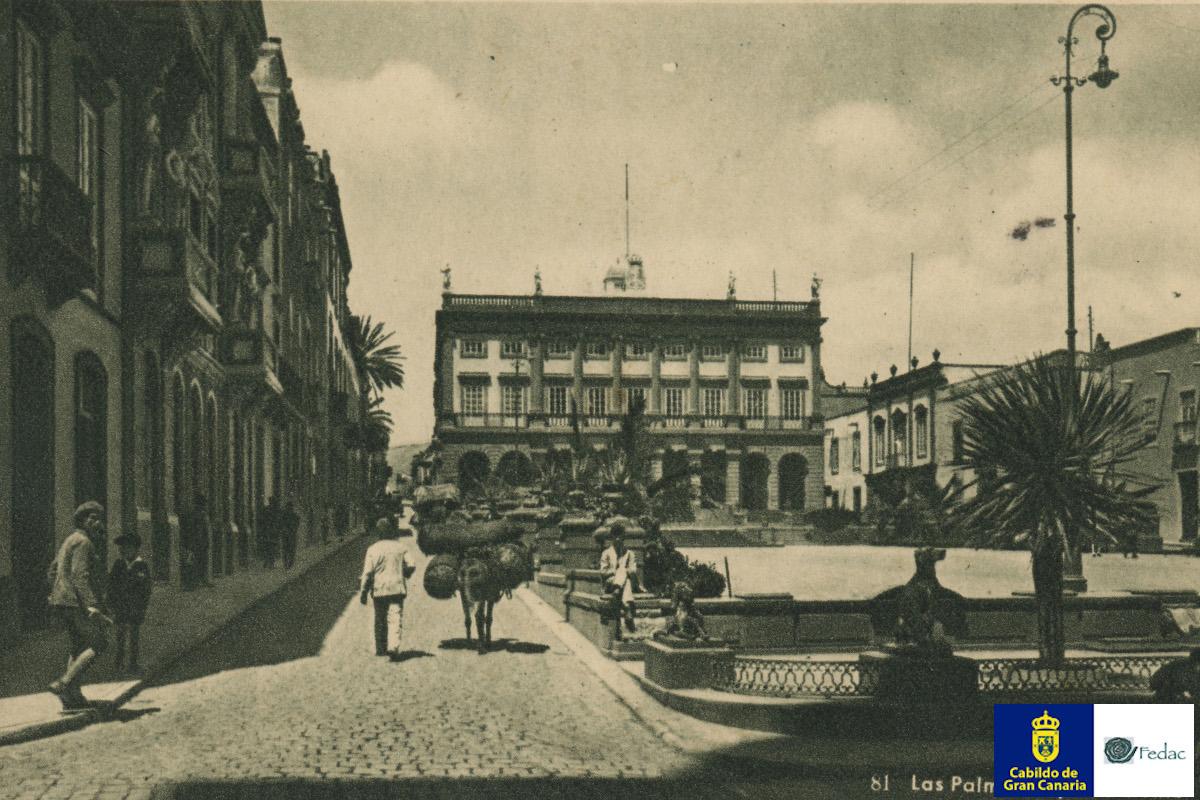 Plaza Santa Ana, 1925