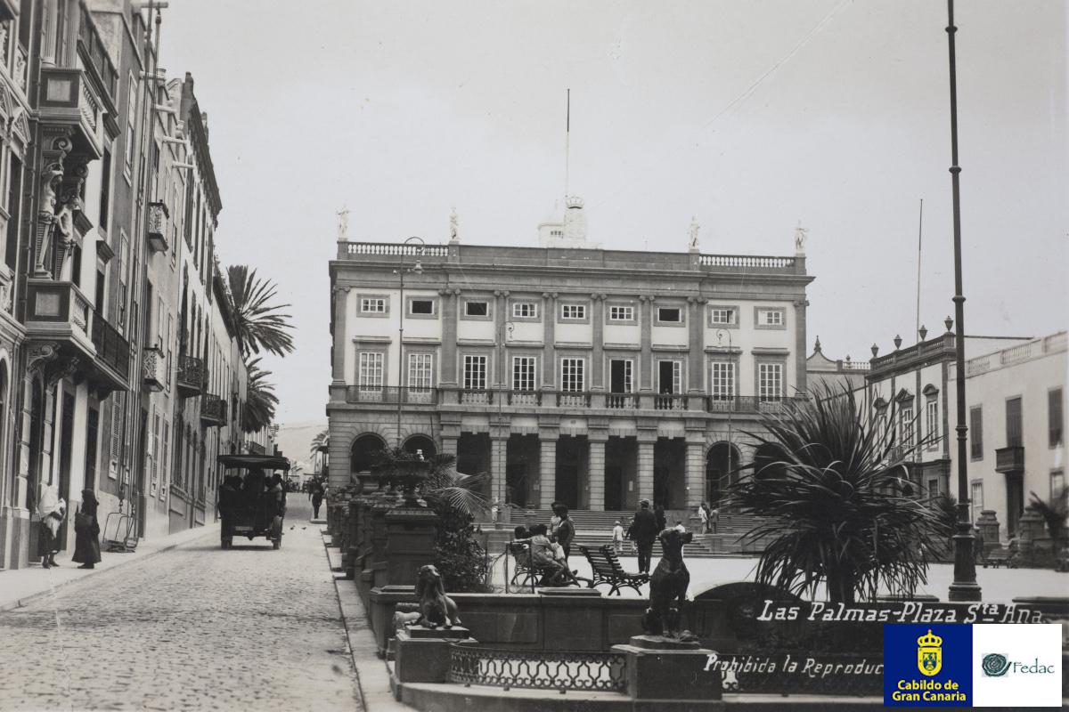 Plaza Santa Ana, 1934