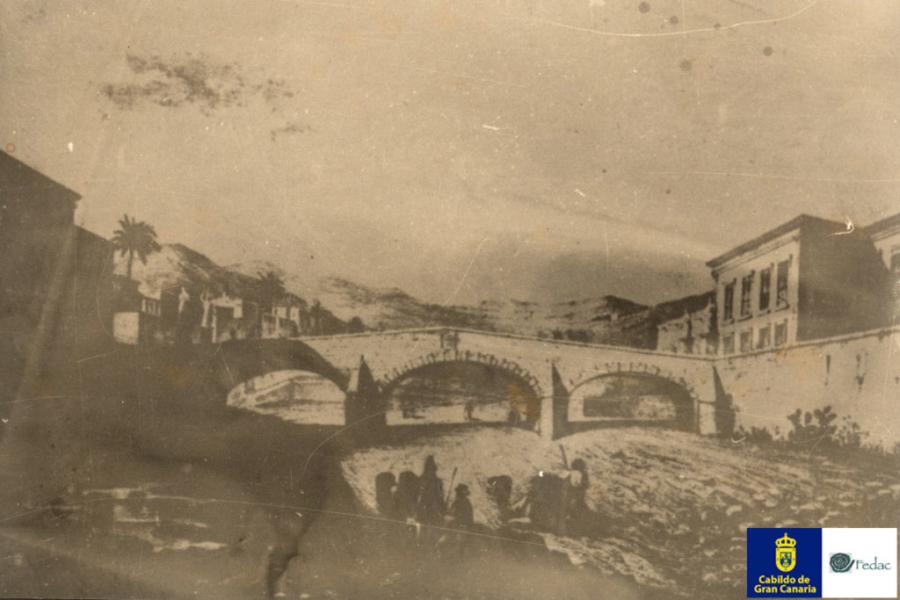 Puente de Piedra, 1857