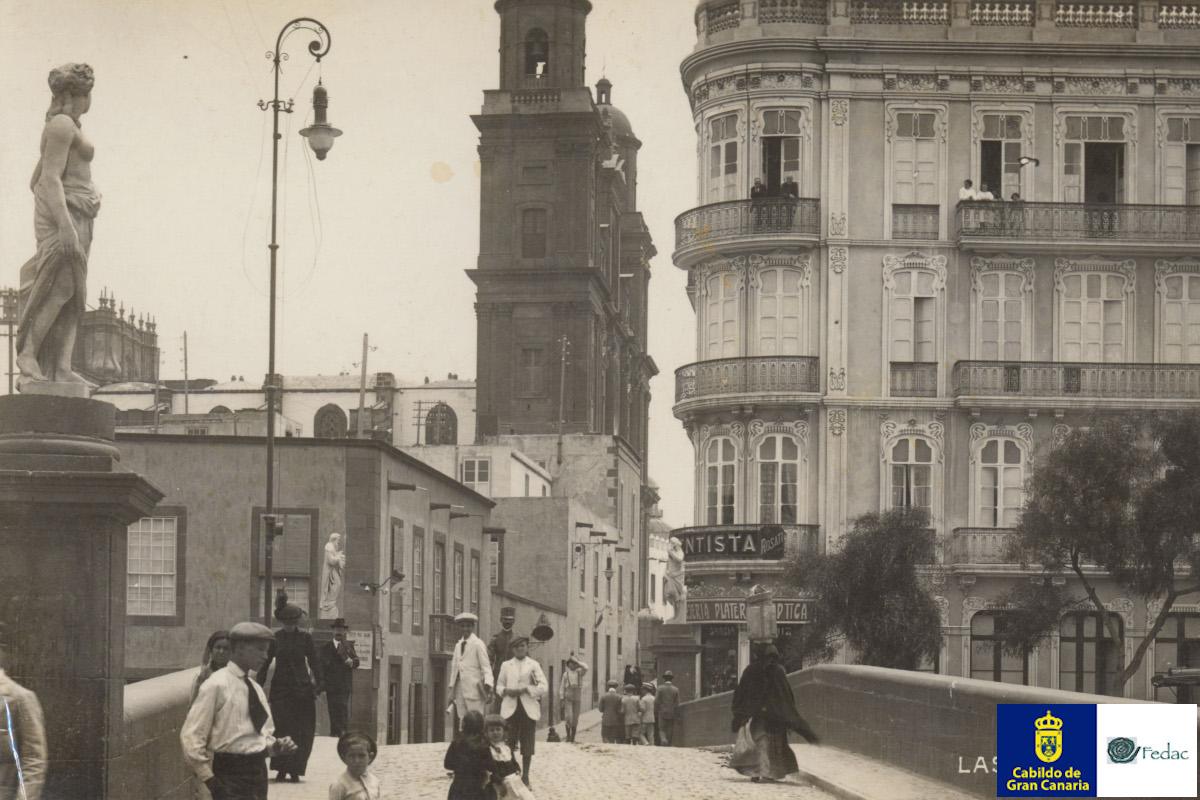 Puente de Piedra, 1914