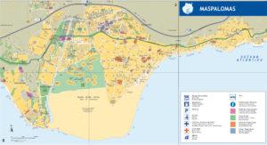 Mapa Maspalomas
